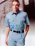 短袖夏季劳保服|WA213